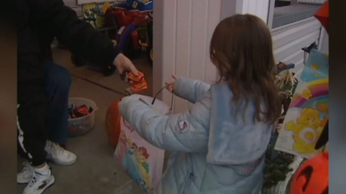 Officials in Los Angeles banned trick-or-treating due to the risk of coronavirus.