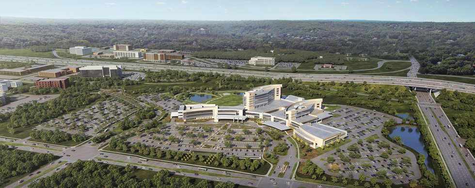 The University Hospitals announced a $200 million expansion of the Ahuja Medical Center.
