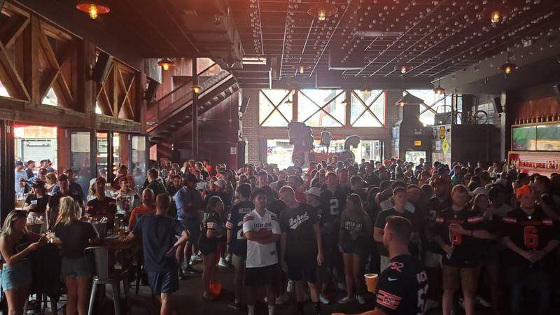 Jake Wilkoff created a Browns Backers Club in Chicago called the Chi-Town DawgPound.