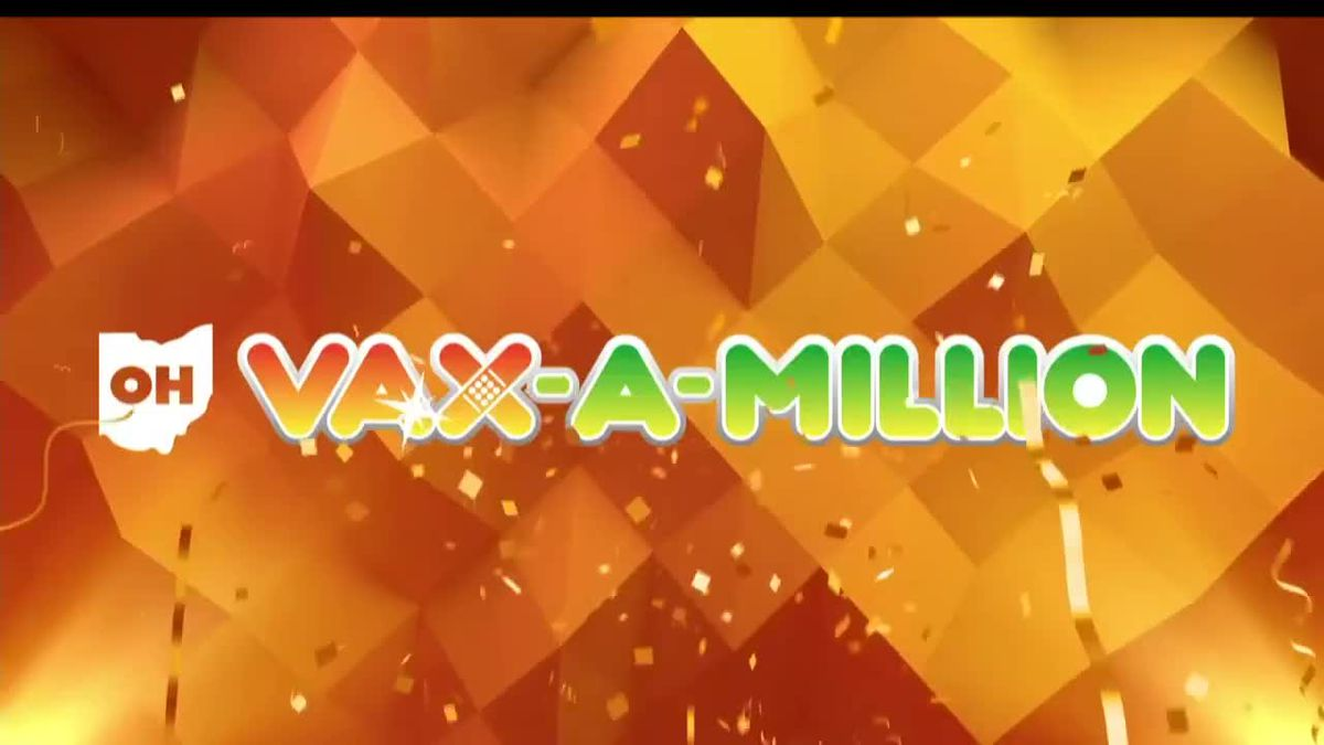 Ohio's first Vax-a-Million winners announced