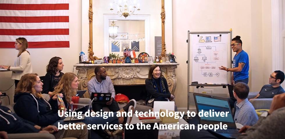 The U.S. Digital Service works near the White House in Washington D.C.