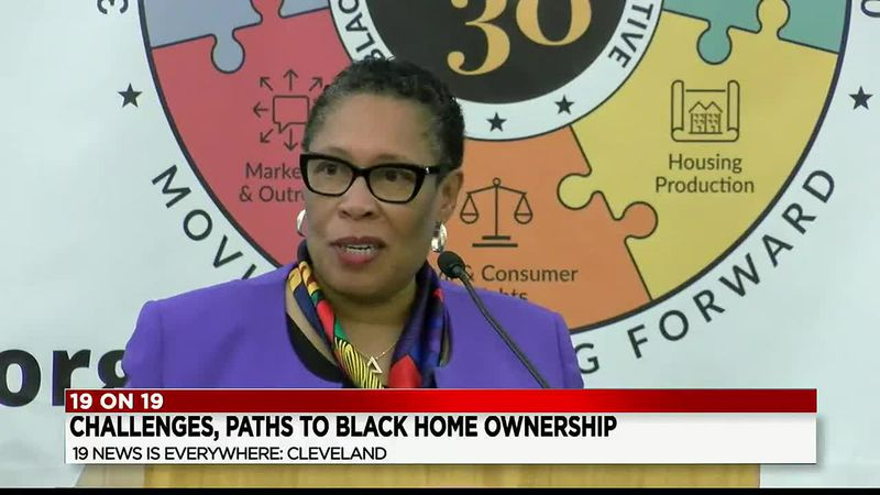HUD Secretary, Marcia Fudge, comes home to Cleveland to make big announcement about housing...
