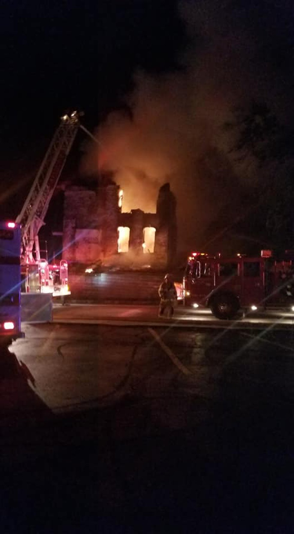 Alliance house fire that hurt firefighter suspected to be caused by arson