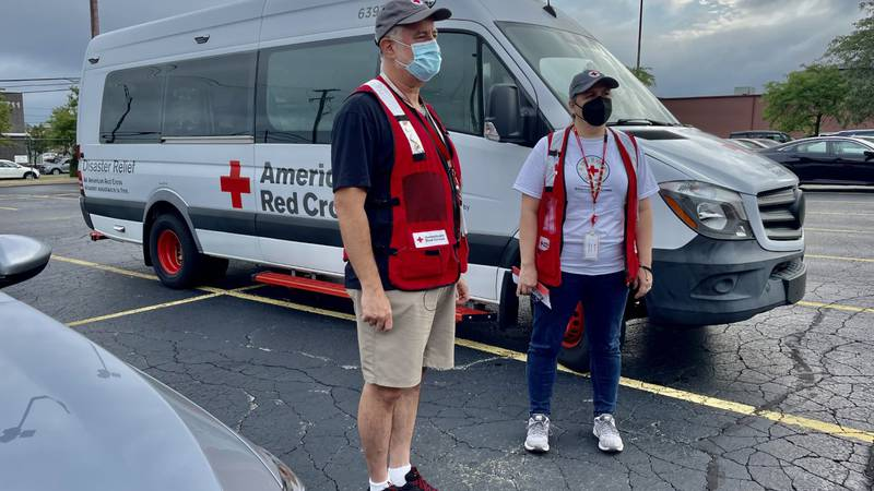 The American Red Cross Northeast Ohio has headed down to Louisiana to help people out after...