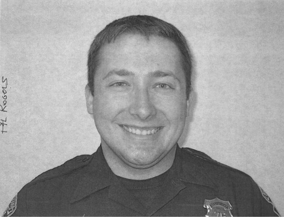 Undated photograph of Beachwood Officer Blake Rogers