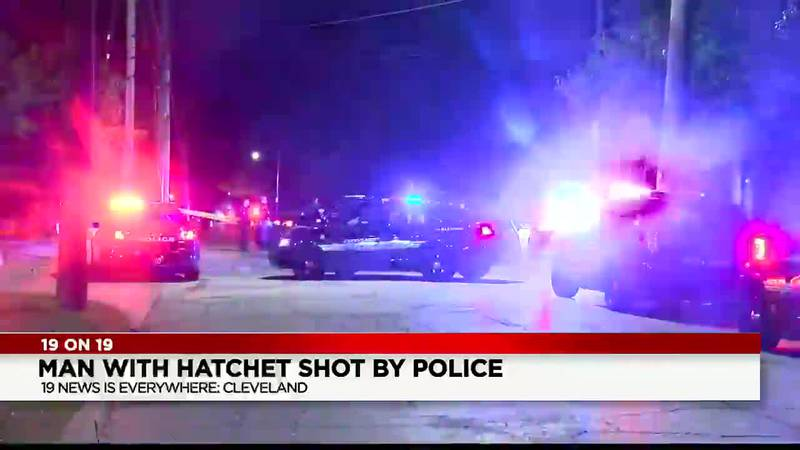A 30-year-old man was shot by a Cleveland police officer early Friday morning after he...