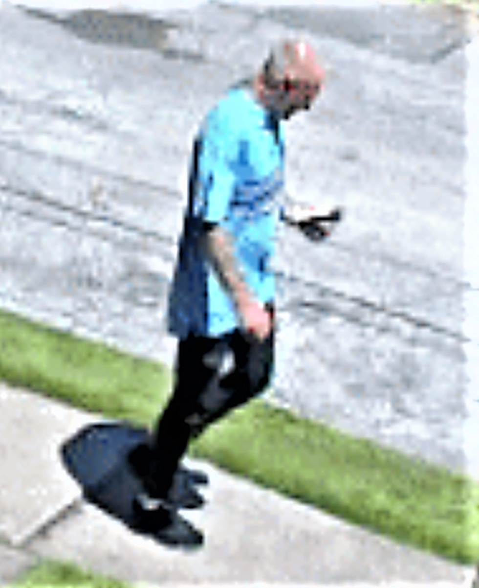 Man wanted for taking truck, trailer, lawn equipment in Cleveland