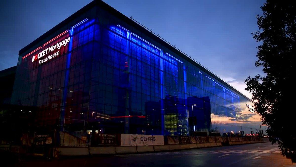 GF Default - Rocket Mortgage FieldHouse's 'light curtain'