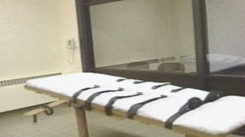 An undated file photo of a lethal injection execution chamber.