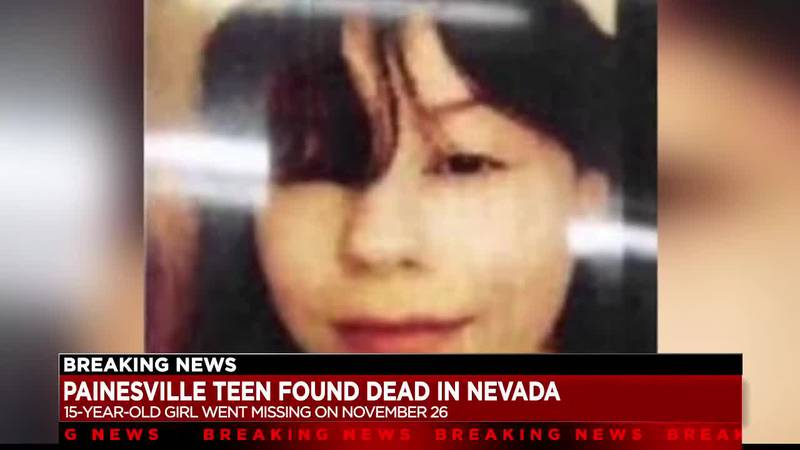 15-year-old Painesville girl dies in Nevada hospital after disappearing in November