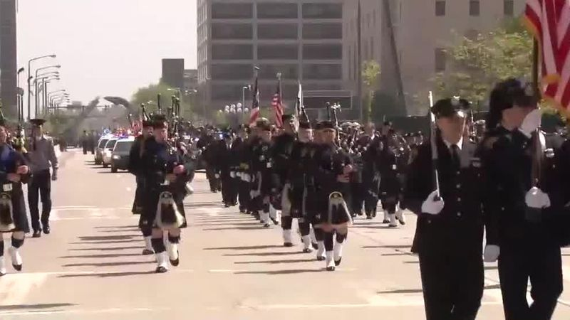 Police Officers Memorial Parade ready to step off again in Downtown Cleveland
