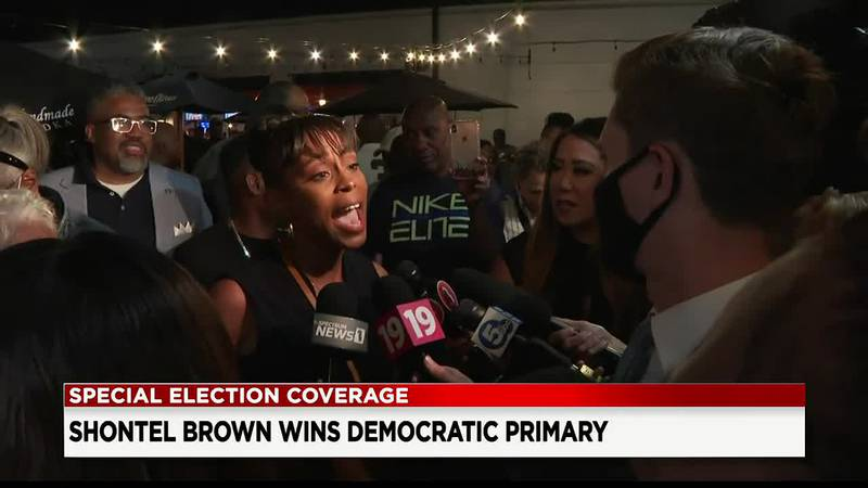 Shontel Brown takes OH-11 Democratic primary; Turner concedes (Brown)