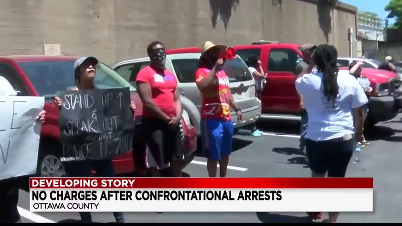 Charges dropped after confrontational arrests caught on camera in Put-in-Bay