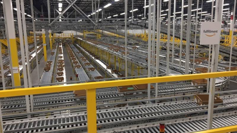 Amazon opened its fulfillment center in North Randall in September 2018.