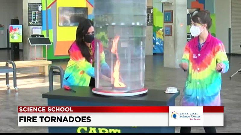 19 First Alert Science School: Fire tornadoes