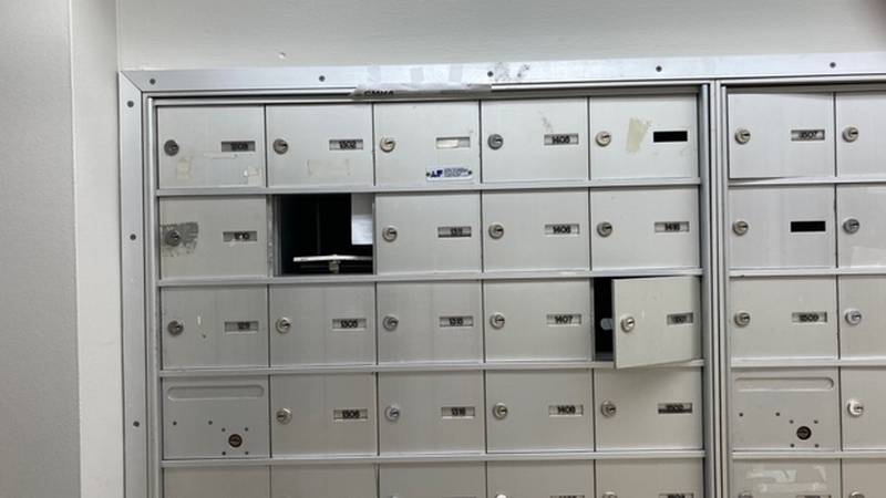 CMHA resident says her apartment building's broken mailboxes affects her livelihood.
