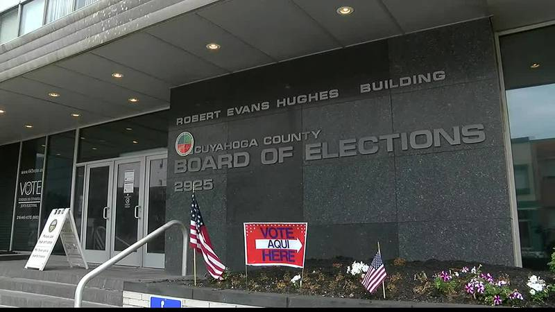 Cuyahoga Board of Elections open for early voting, candidates for poll jobs