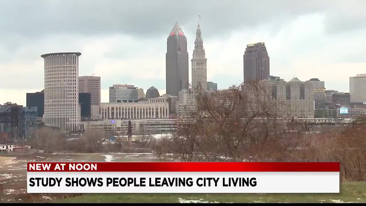 Study shows more people leaving downtown Cleveland living for suburbs