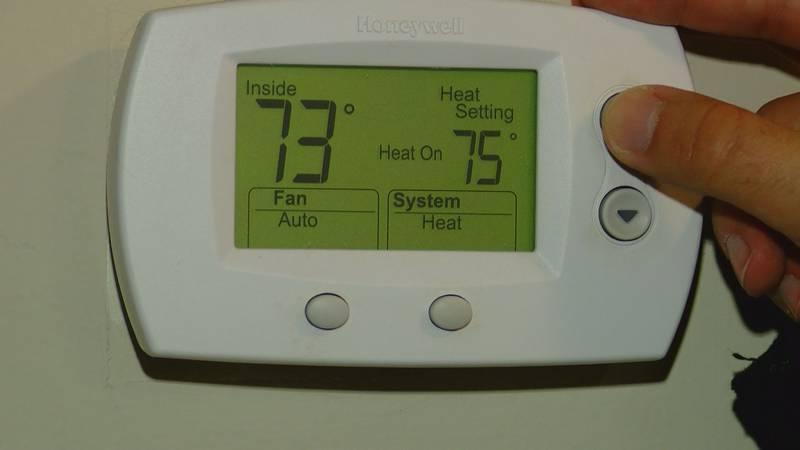 You should only increase the temperature on your thermostat by a couple degrees at a time.