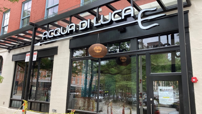 Chef Luca Sema has taken ownership of a property left vacant by COVID, and opened Acqua di Luca...