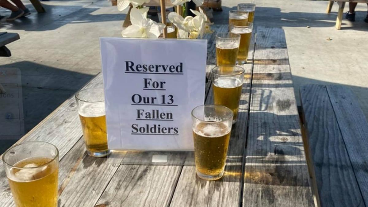 Northeast Ohio restaurants honor 13 US service members killed in Kabul bombings