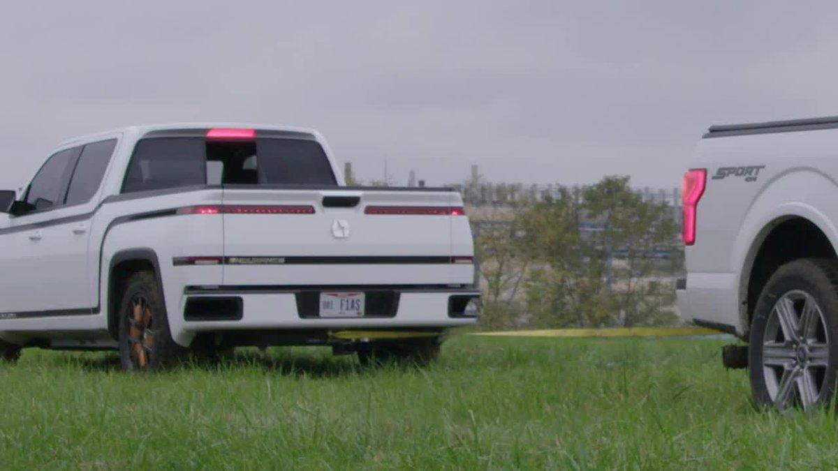 Lordstown Motors tests electric pickup truck