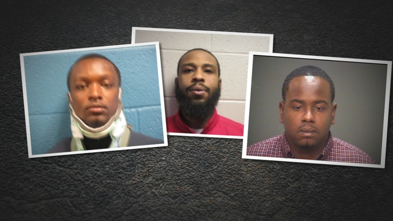 Three men have been indicted after police say they lead three separate chases in East Cleveland...