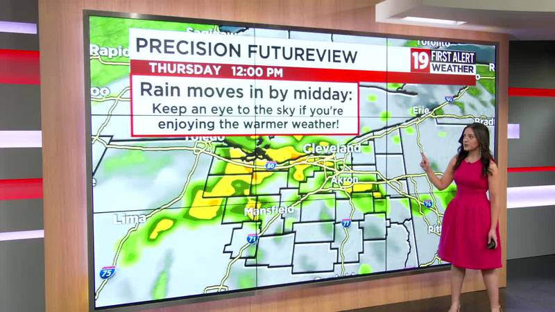 Northeast Ohio weather: Flirting with record-high temps the next couple of days, rain returns