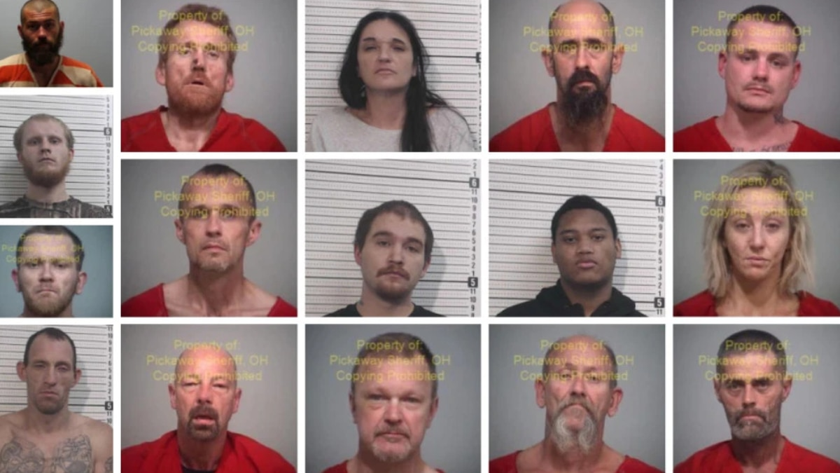 Dozens were recently arrested after a large drug bust that spanned 3 Ohio counties.