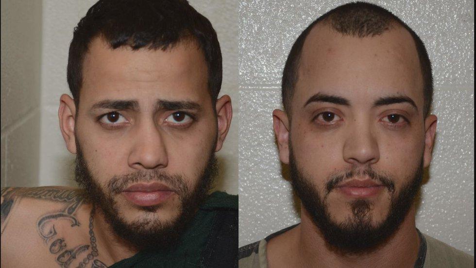 Juan Carlos Perez, 27, and Luis Carlos Candelairo, 30.