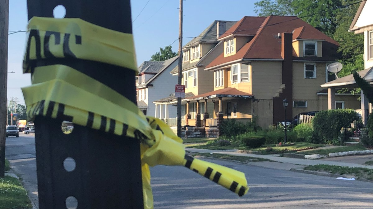 One male was killed walking down the street on East 79th Street early Saturday morning.