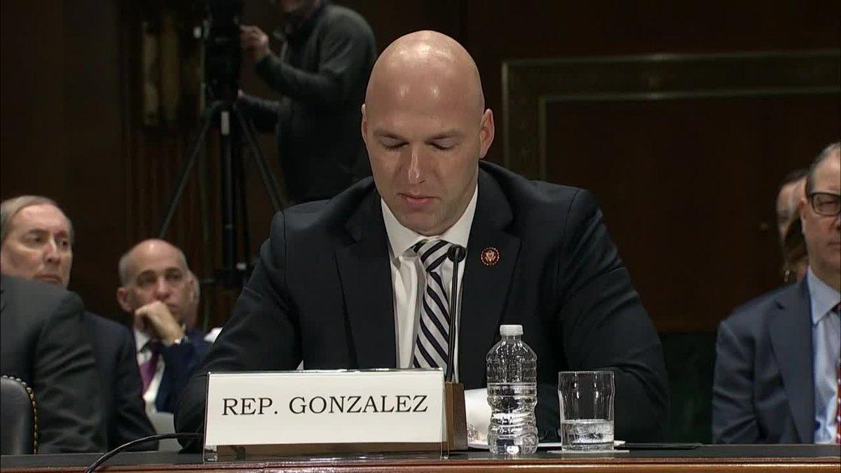 Rep. Anthony Gonzalez announces he won't seek re-election.