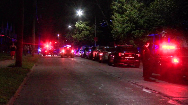 Man shot in same area as Cleveland police officer