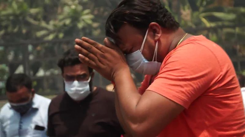 Desperation and heartbreak in New Delhi as India's health system collapses under the surge in...