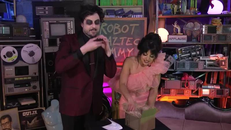 Ep 14 Big Bad B Movie: The Robot vs The Aztec Mummy