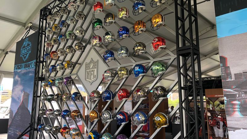 The NFL Draft is getting ready to kick off in Cleveland.