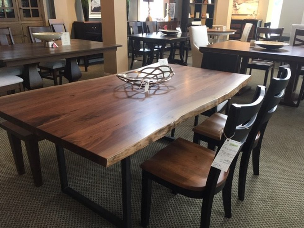 Eastwood Furniture sells wood that is manufactured by the Amish in Wayne and Holmes County.