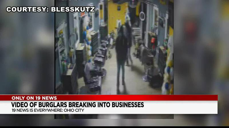 At least 2 Ohio City businesses hit by burglars on same night