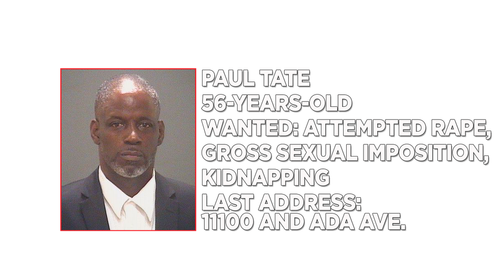 56-year-old Paul Tate is a registered sex offender who is wanted on multiple charges including...