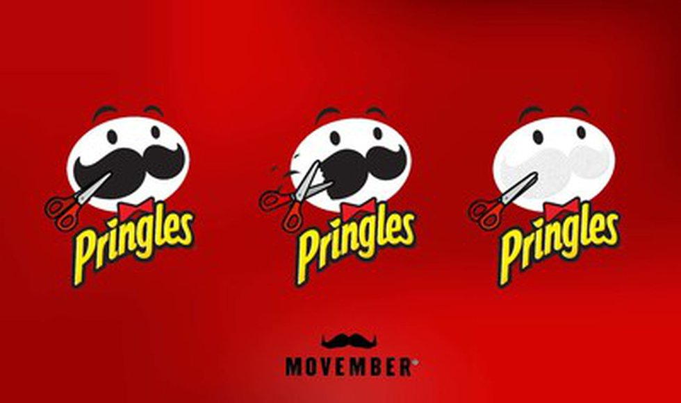 PRINGLES® PARTNERS WITH MOVEMBER TO ENCOURAGE OPEN CONVERSATIONS AROUND MENTAL HEALTH
