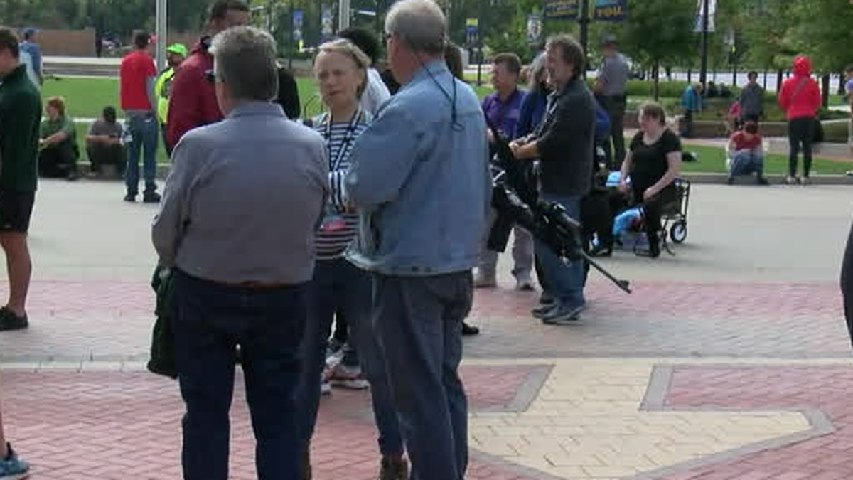 """There was an open carry """"walk"""" at Kent State on Saturday."""