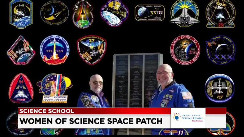 19 First Alert Science School: Women of space patch
