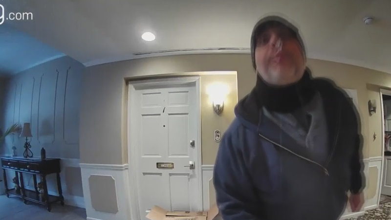 Property Manager of Meadowlawn Condominiums in Mentor, Bryan Mansfield was caught on an elderly...