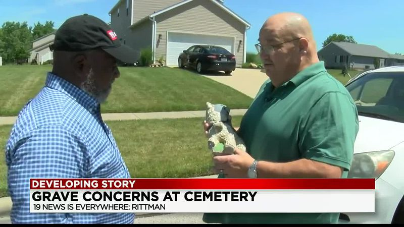 Rittman Cemetery accused of moving or breaking family memorials from gravesites