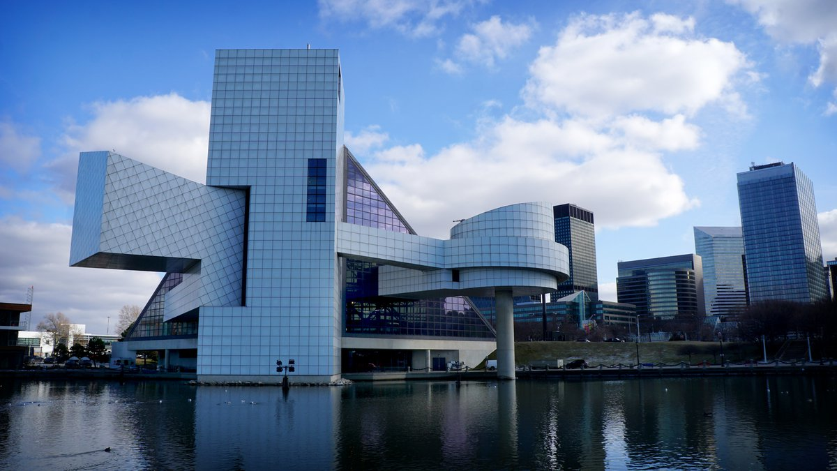 The Rock & Roll Hall of Fame, Cleveland, Ohio
