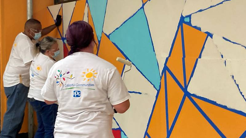 Luis Munoz Marin is getting a vibrant makeover, aimed to inspire creativity.
