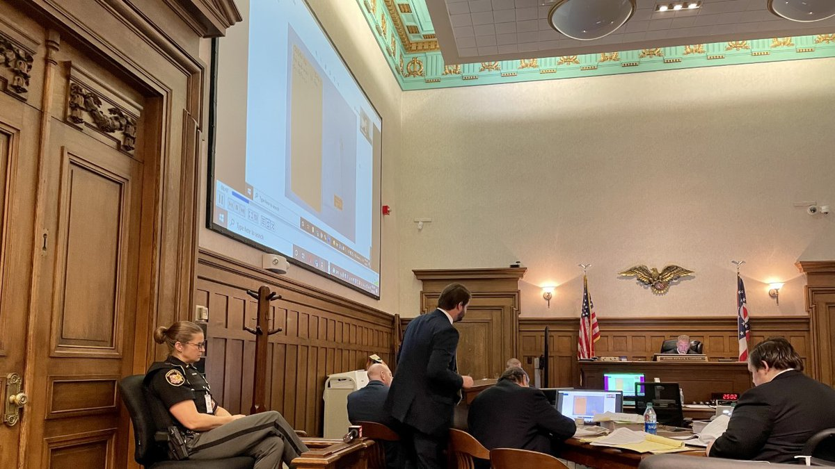On Thursday during the Blake Sargi trial, Daniel Mabel a former forensic scientist at the...