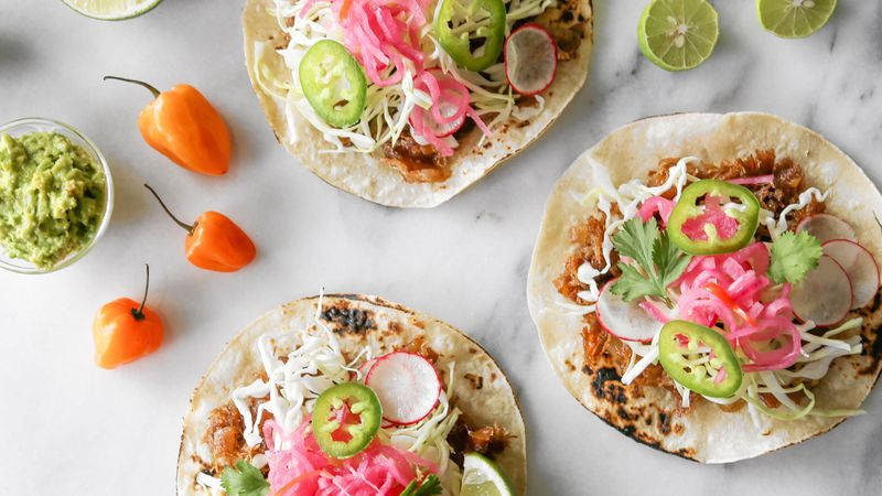 Easy Low-Carb Tostadas are a great treat for a simple dinner or appetizer.