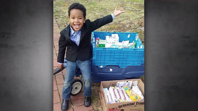 In the four years 8-year-old Tyler Stallings has been helping veterans, he has donated close to...