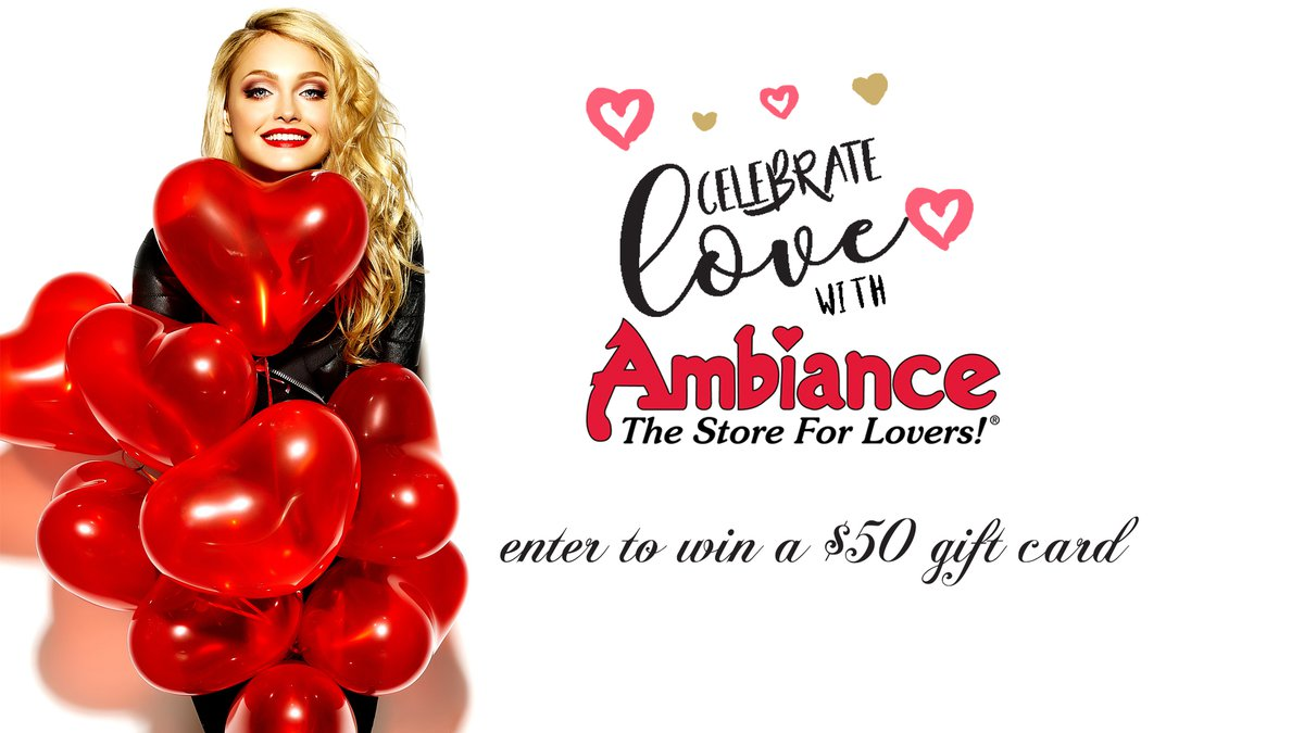 Celebrate Love with Ambiance